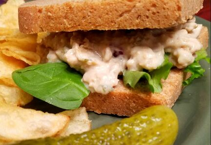 vegan tuna salad